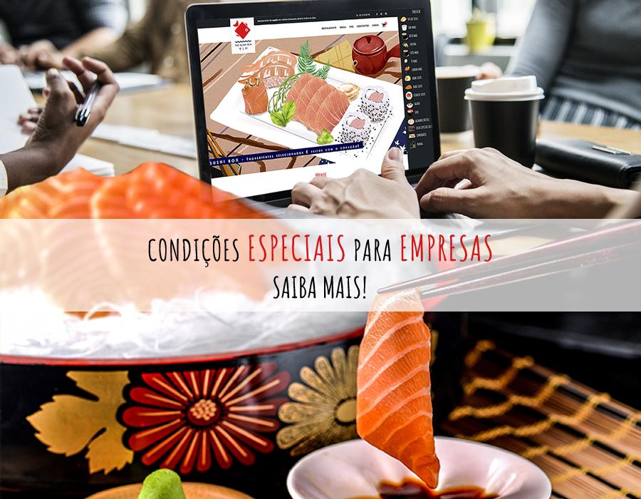 Sushi para empresas