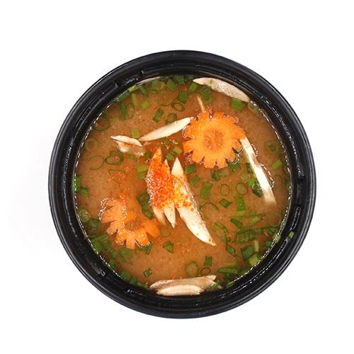 Hot Sopa de Miso (Picante)