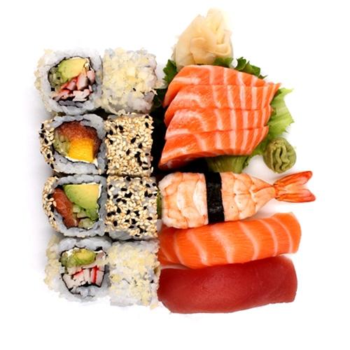 Menu sushi sashimi