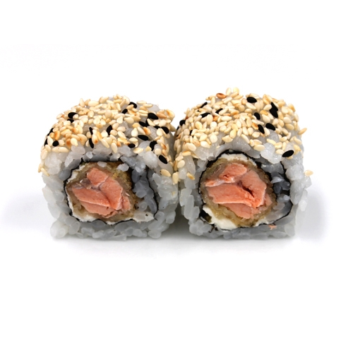 Uramaki Salmão Frito c/Philadelphia